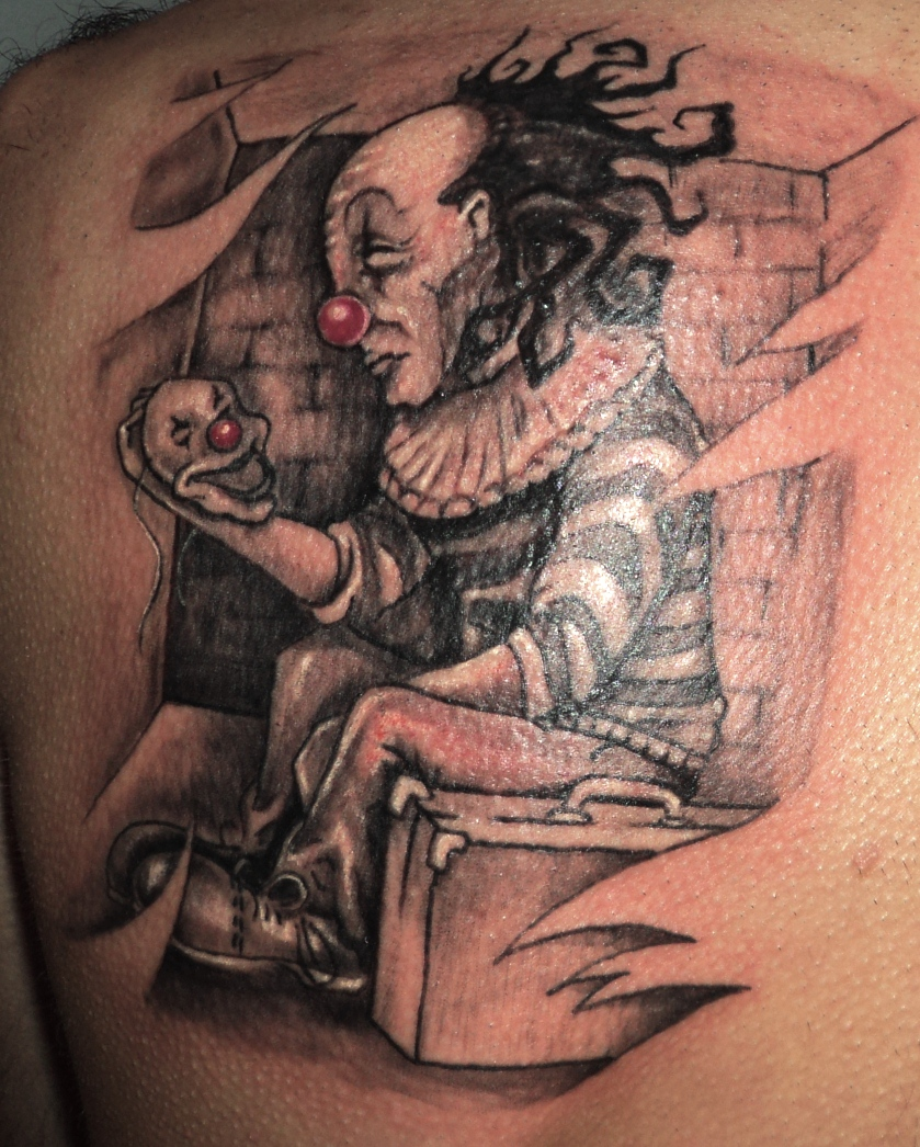 Clown Tattoos Designs And Ideas  Page 9