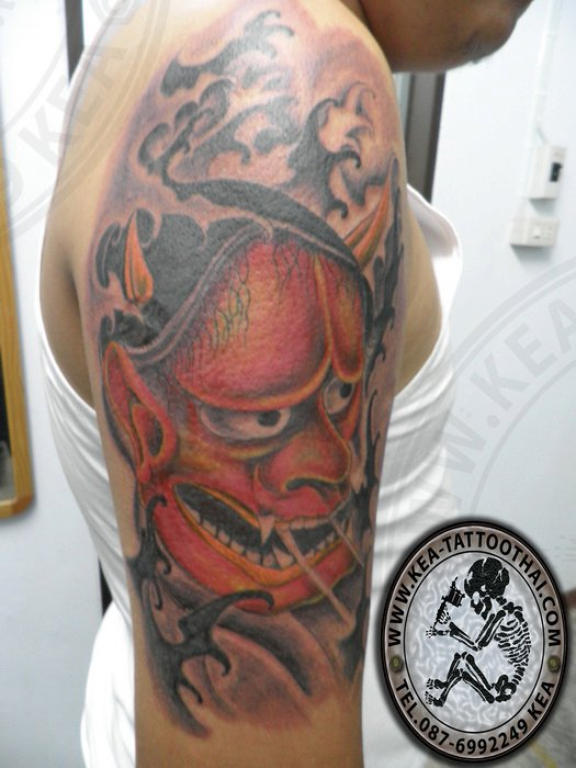 Scary Devil Tattoo For Men