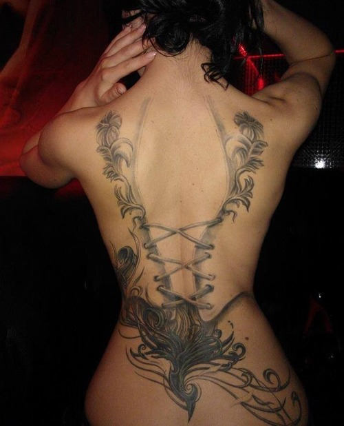 Corset Tattoos Designs And Ideas Page 3