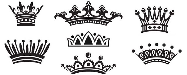 Superb Crown Tattoo Designs