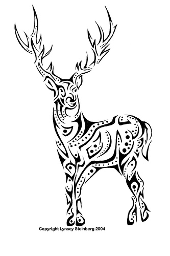 Celtic Deer Tattoo Tattoos Designs And Ideas Page 33