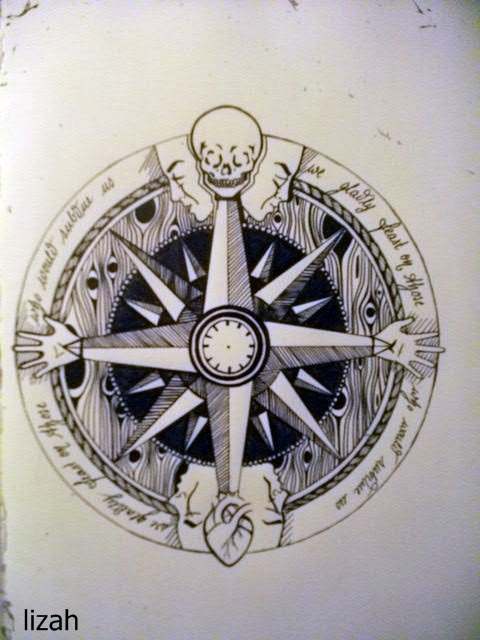 Compass Drawing Tumblr Tattoos Designs And Ideas Page 20