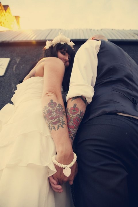 Wedding Couple Tattoo