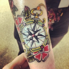Wonderful Compass Tattoo