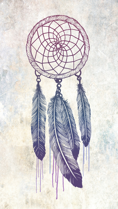 Again Dream Catcher Drawing