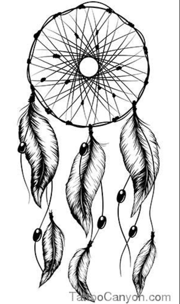Again Dream Catcher Tattoo Stencil Tattoobitecom