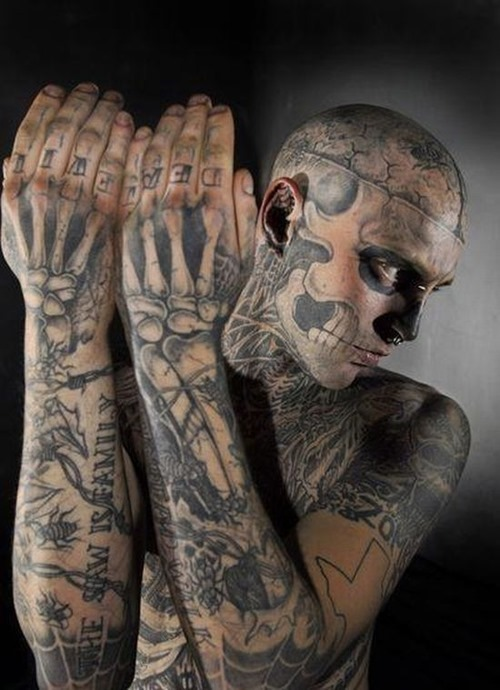 Amazing Full Body With Extreme Tattoo