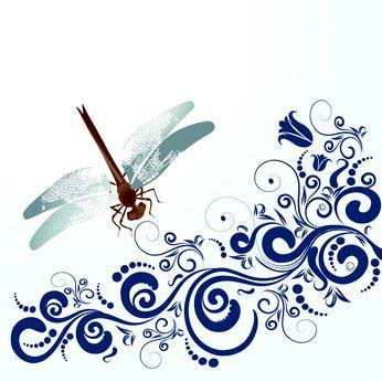 Awesome Dragonfly Tattoo Design