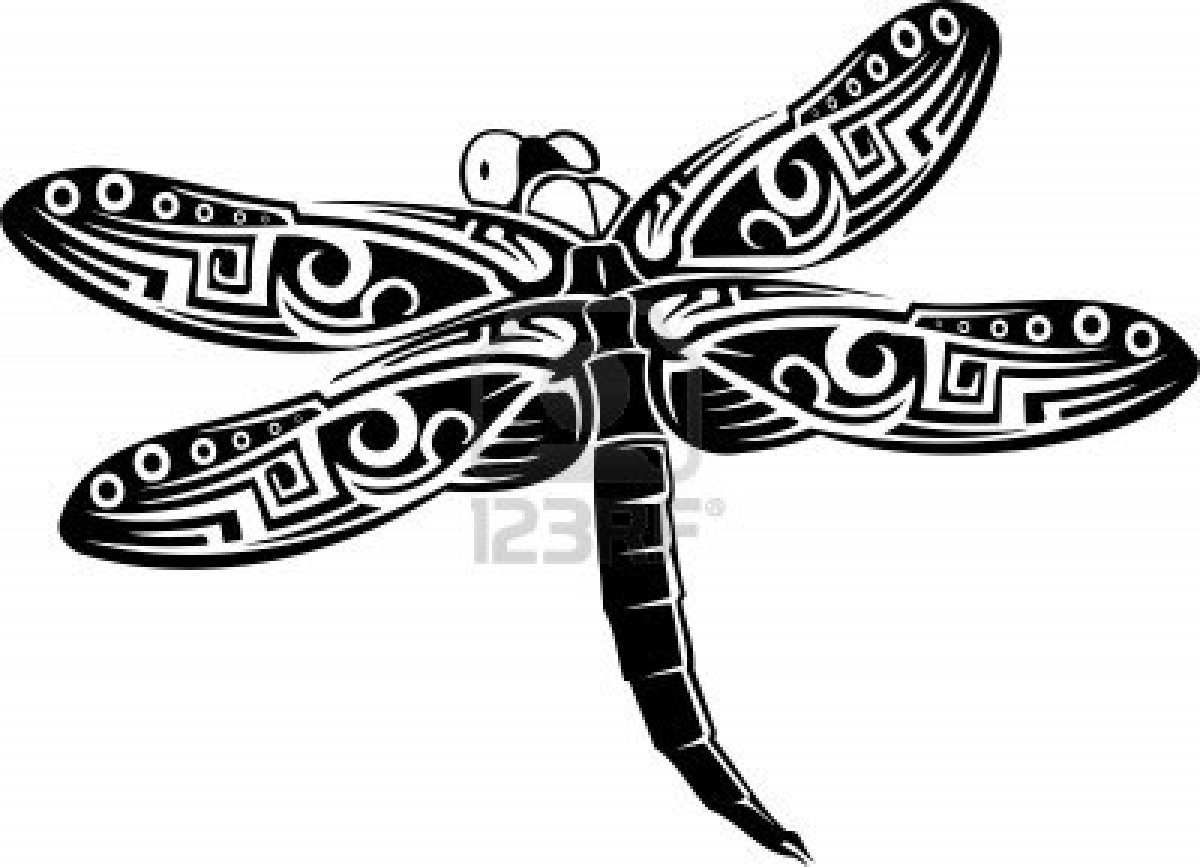Awesome Dragonfly Tattoo Sample