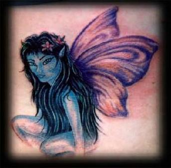 Beautiful Fairy Fantasy Tattoo
