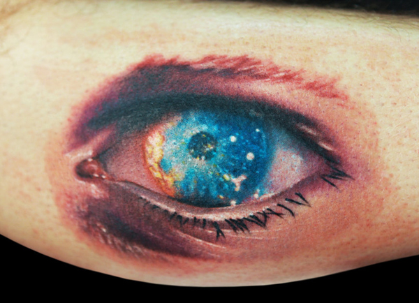Brilliant Eye Tattoo Design