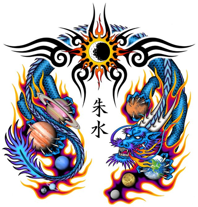 Dragon Tattoos Designs And Ideas  Page 20