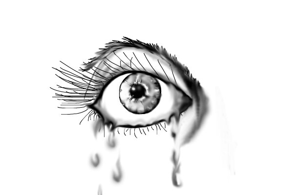 Gallery For gt Crying Eye Tattoo Designs