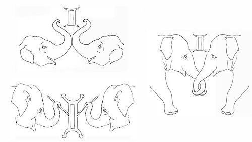 Elephant Tattoo Samples