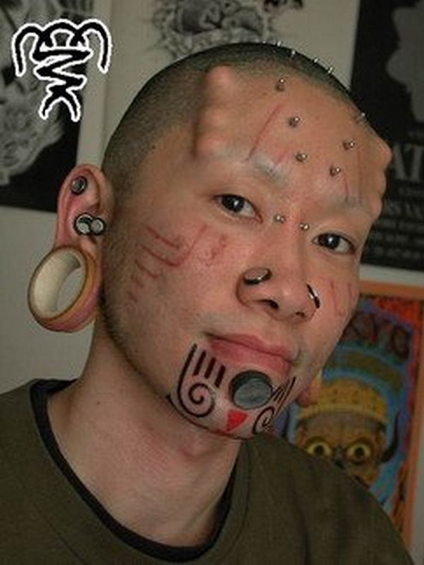 Extreme Body Modification Tattoo Design  Tattoobite.com