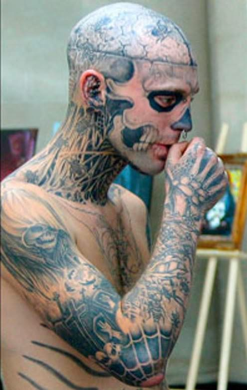 Extreme Body Tattoo For Men