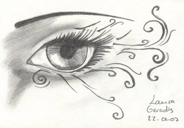 Eye Tattoo Sketch