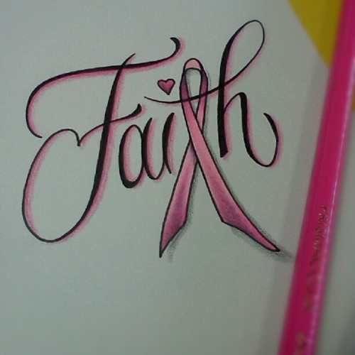Faith Breast Cancer Tattoo