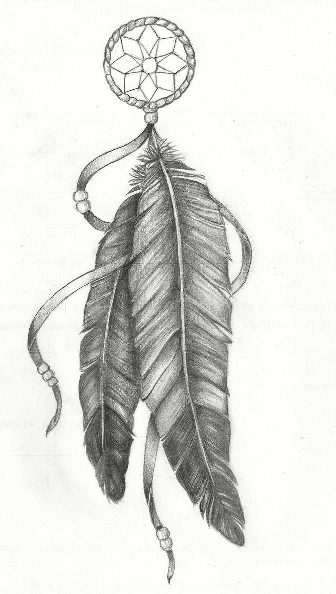 Native Feathers Drawing Galleryhipcom The Hippest