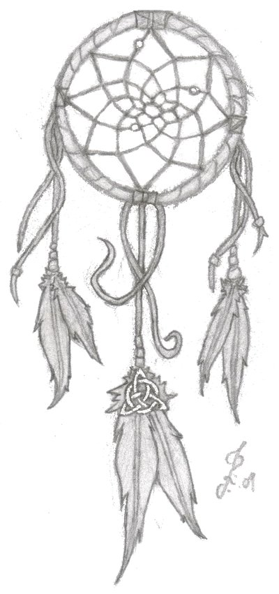 Heart Dreamcatcher Stencil Fine Dream Catcher Tattoo