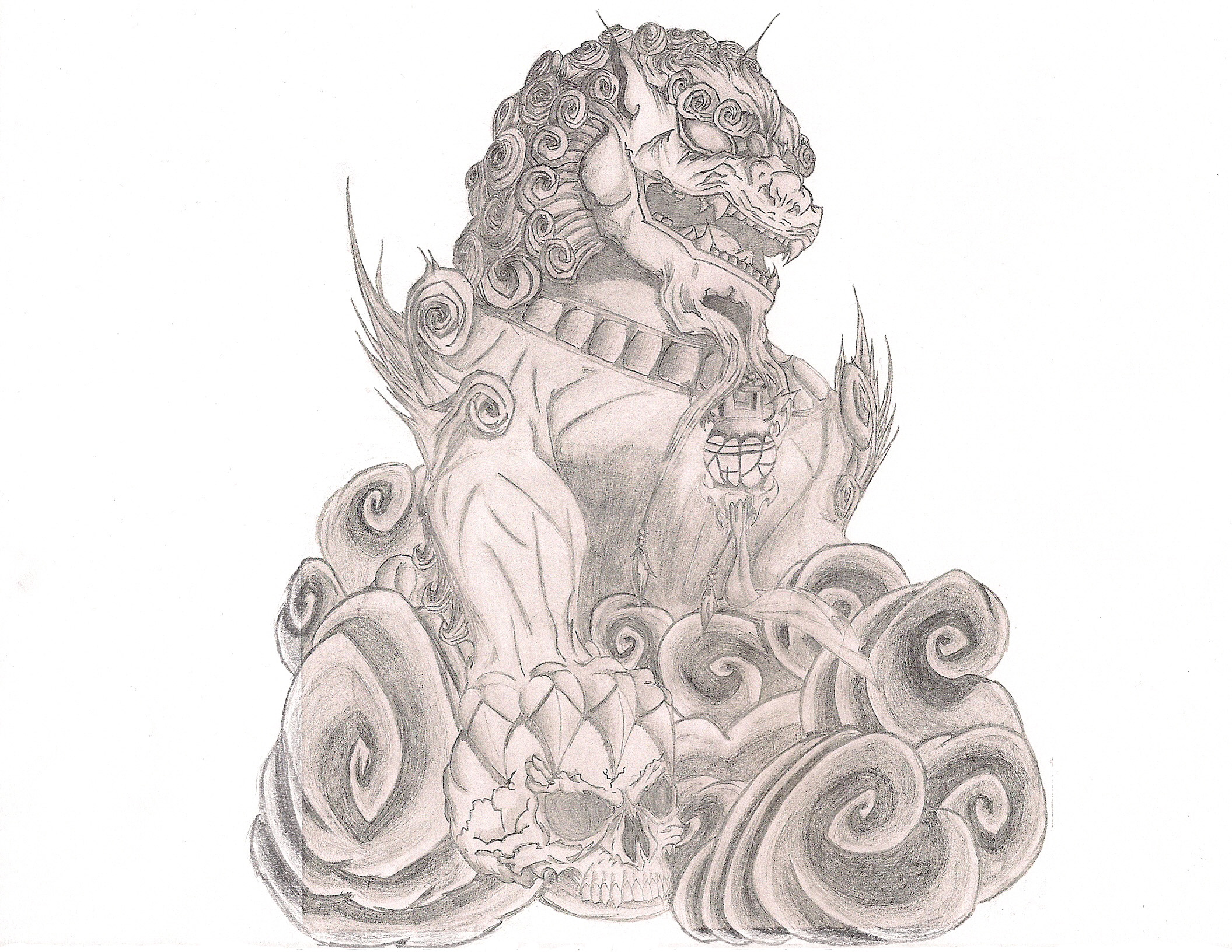 Asian tattoo drawings online
