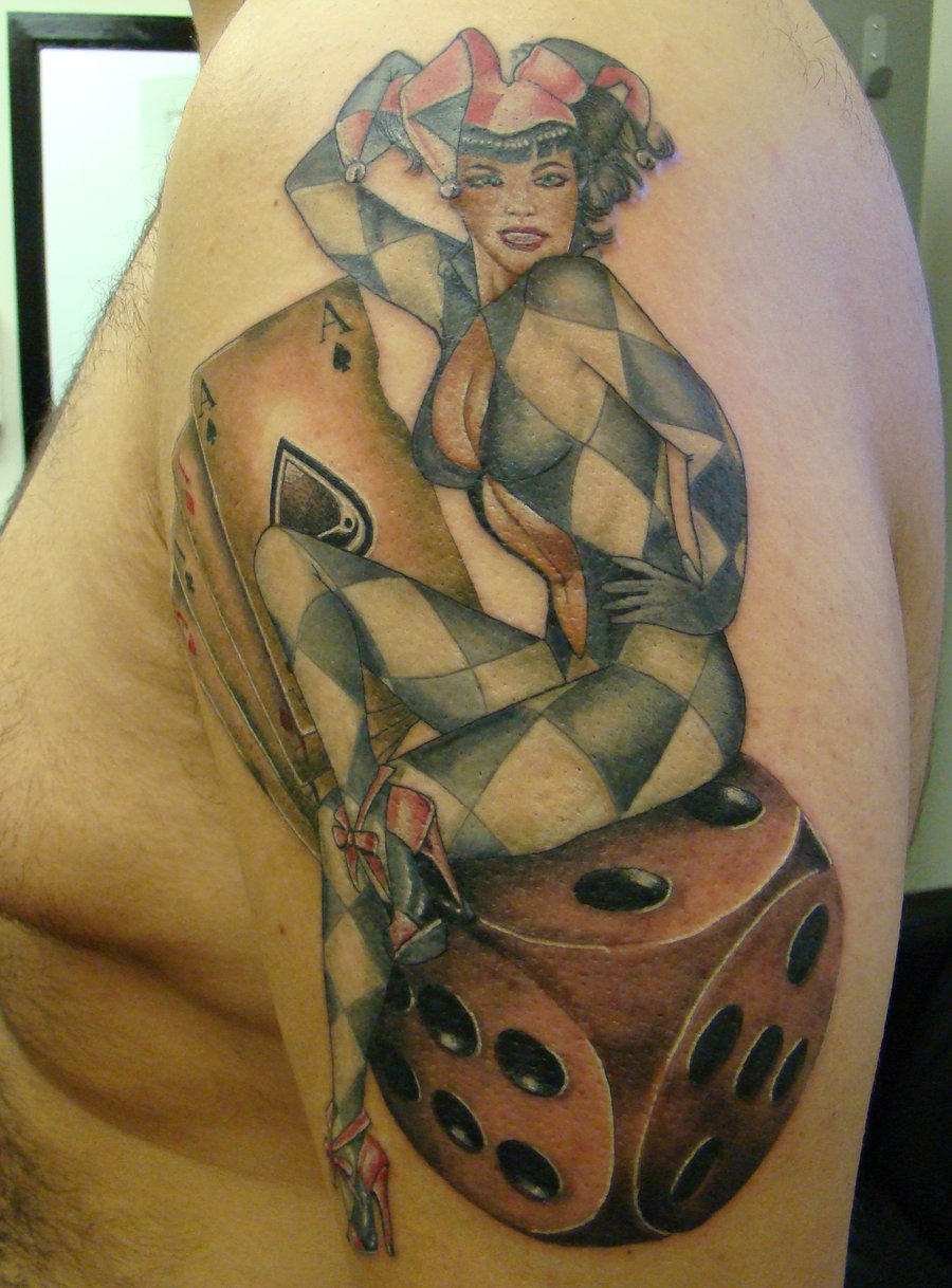 Dice Tattoos Designs And Ideas  Page 16