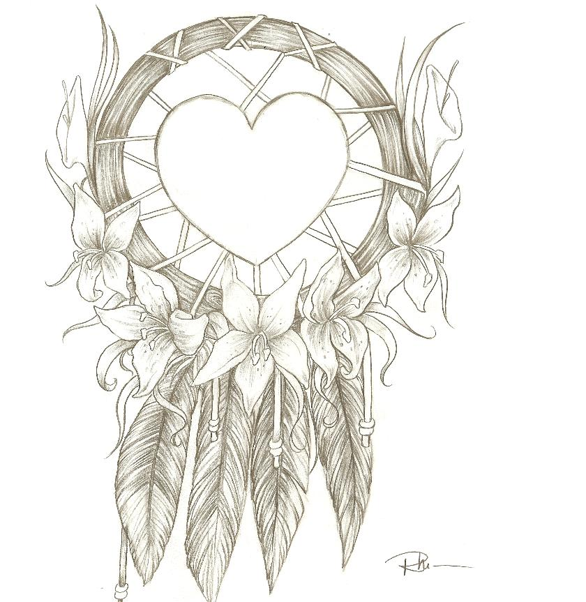 Heart Dream Catcher Ta...