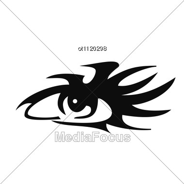 Human Eye Tattoo Design