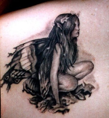 Modern Fairy Tattoo