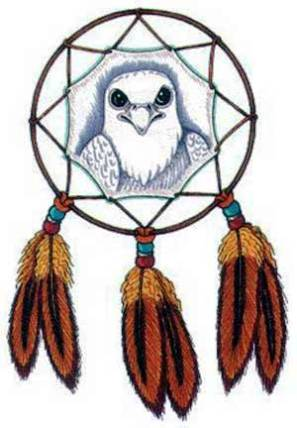 Native American Dream Catcher Tattoo Design