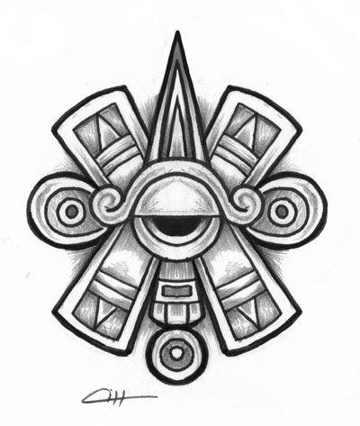 Aztec Designs And Patterns Tattoo Design Simple Aztec