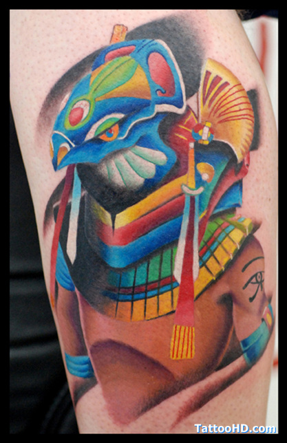 Symbolic Egyptian Tattoo Design