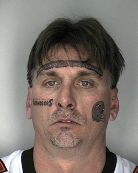 Truly Awful Face Tattoo Design