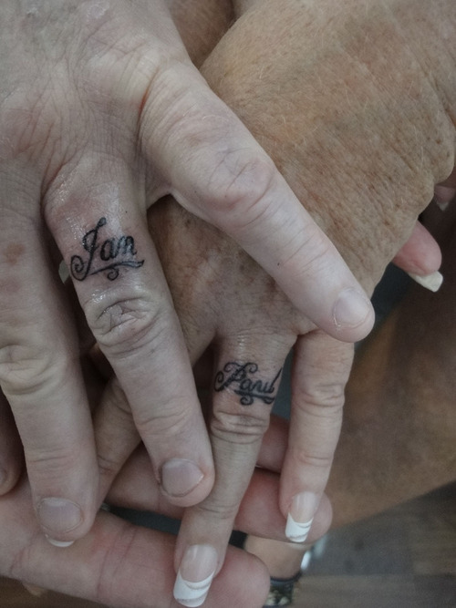Beautiful Ring Finger Tattoo Designs