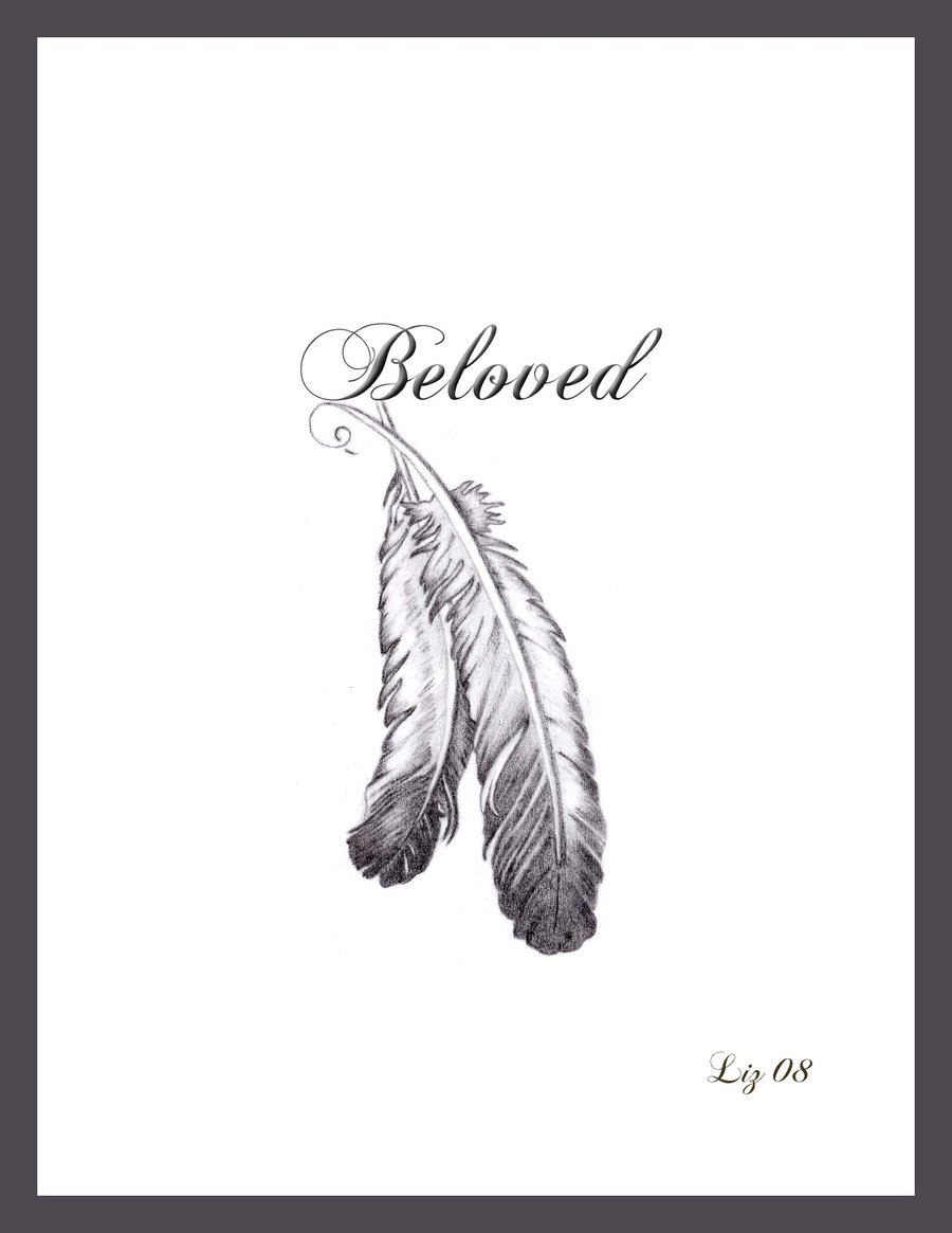 Beloved Feather Tattoo Picture