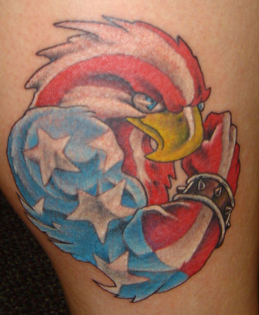American Eagle Flag Tattoo Designs on American Eagle Tattoo Designs