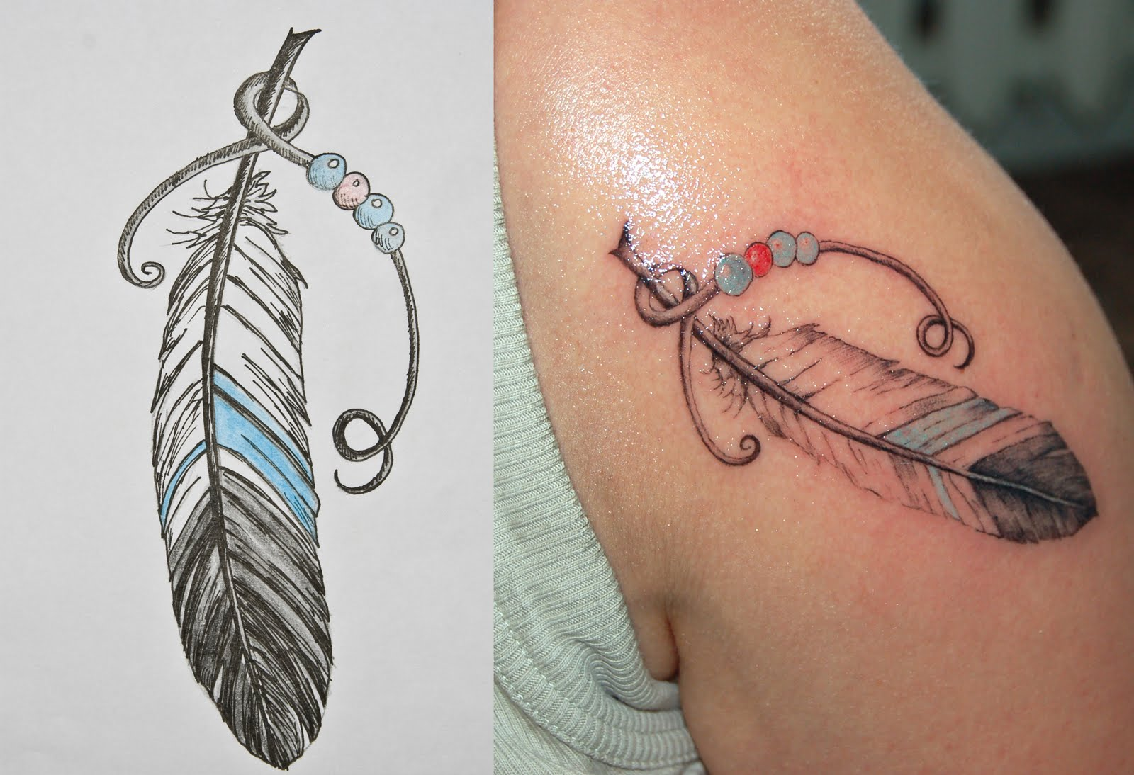 Feather Tattoos Designs And Ideas  Page 13