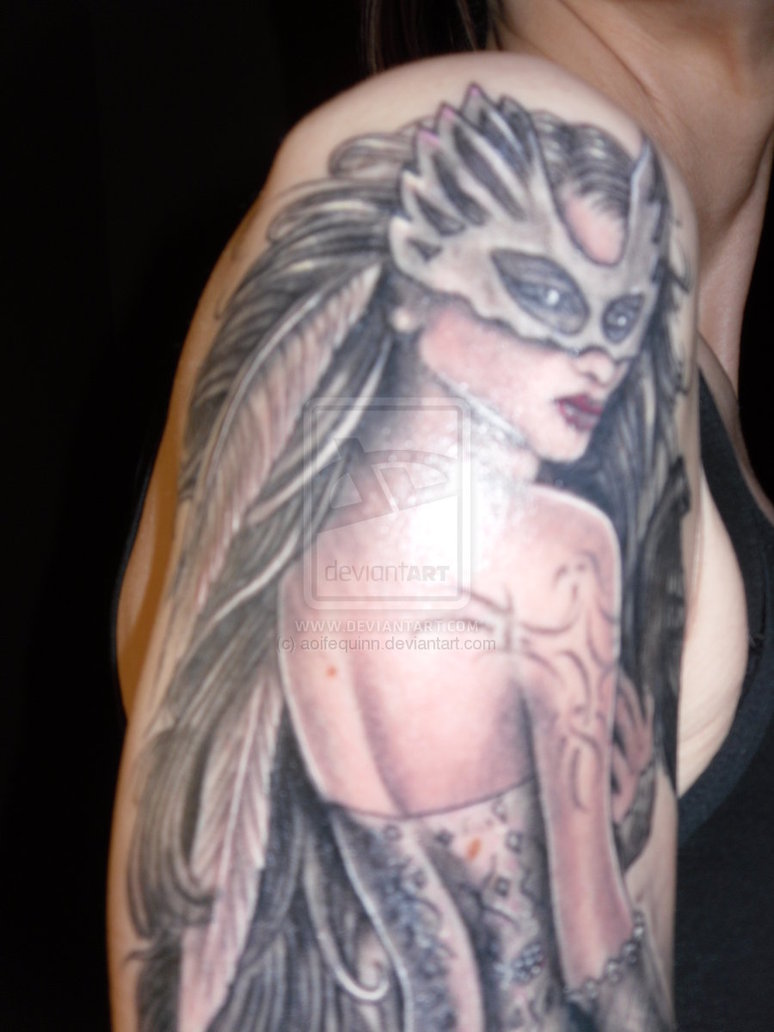 Fantasy Tattoo Close Up