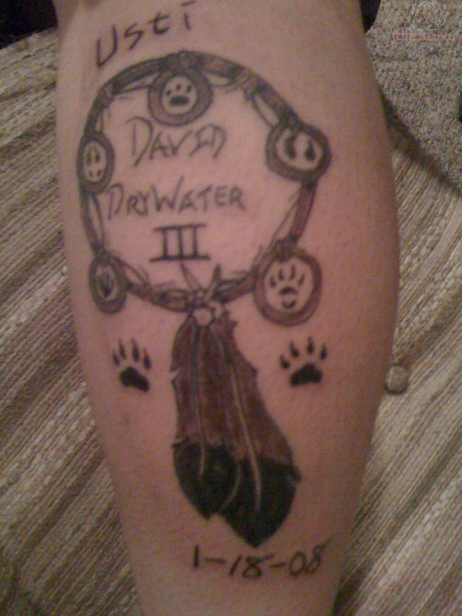 Feather Dream Catcher Tattoo Picture