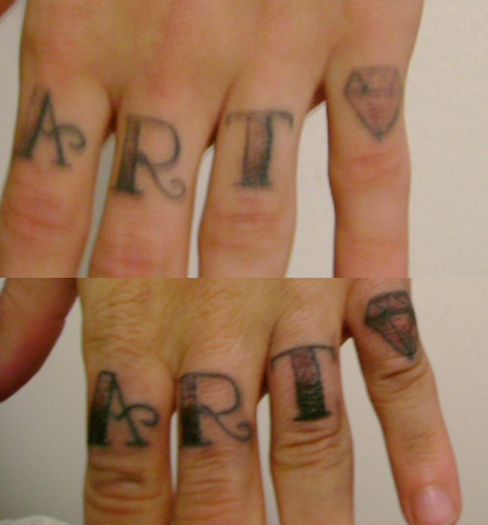 Finger Tattoo Pictures