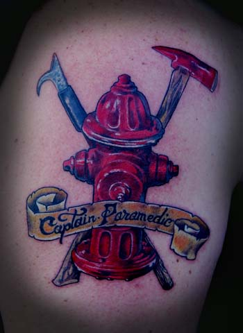 Firefighter Tattoo For You