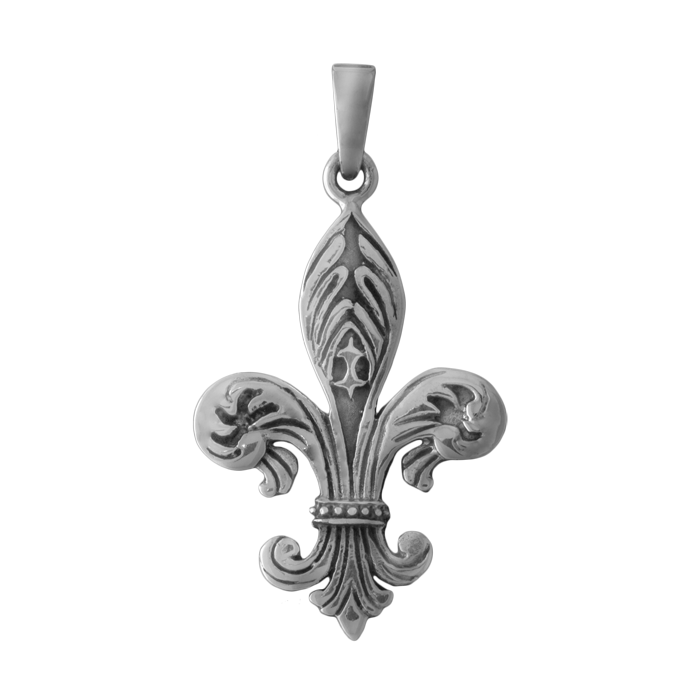 Ornate Fleur De Lis Tattoo Design