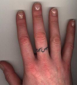 Ring Finger Tattoo Design
