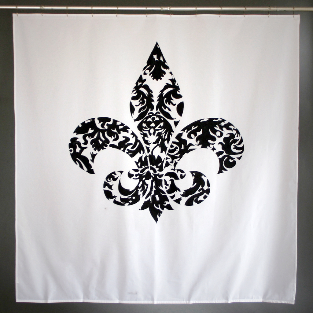 Saints Fleur De Lis Tattoo Design
