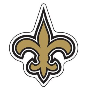 Saints Fleur De Lis Tattoo Sample