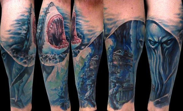 Amazing Horror Tattoo Pictures