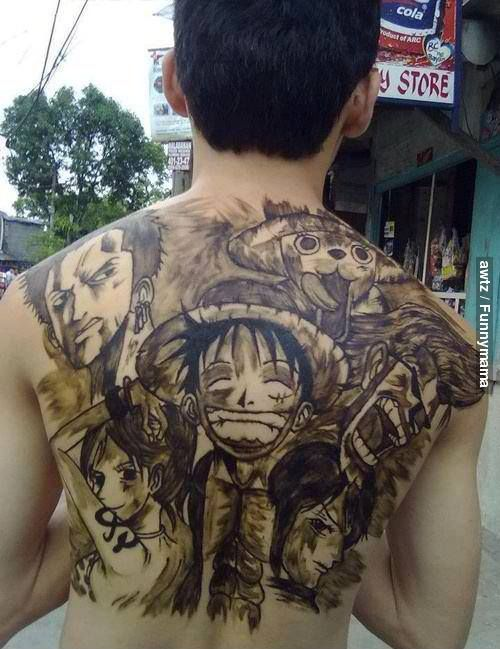 Awesome Full Body Tattoo Design
