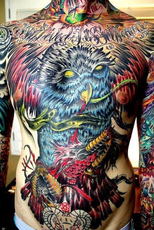 Awesome Full Body Tattoo