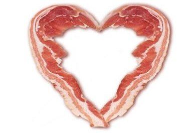 Bacon Heart Tattoo Design