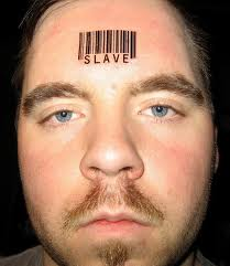 Barcode Tattoo On Forehead